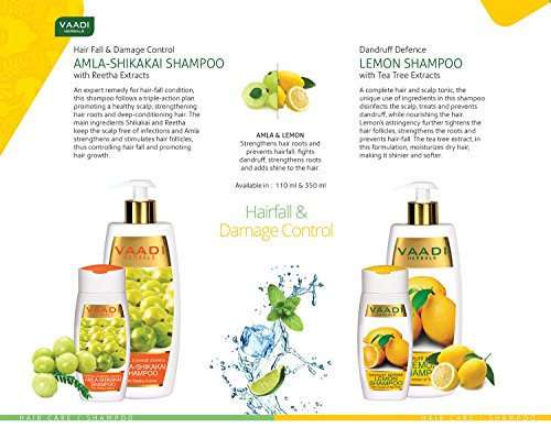 Amla Oil - Brahmi Oil - Blend of Brahmi and Amla Herbal Oil(Pack of 3 X 6.76 Ounces) - Vaadi Herbals