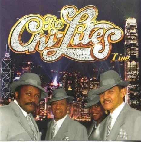 CD The Chi-lites Live