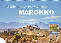 Erlebe mit mir das traumhafte Marokko (Wandkalender 2022 DIN A2 quer): Die marokkanischen Landschaften sind einzigartig abwechslungsreich. (Monatskalender, 14 Seiten )