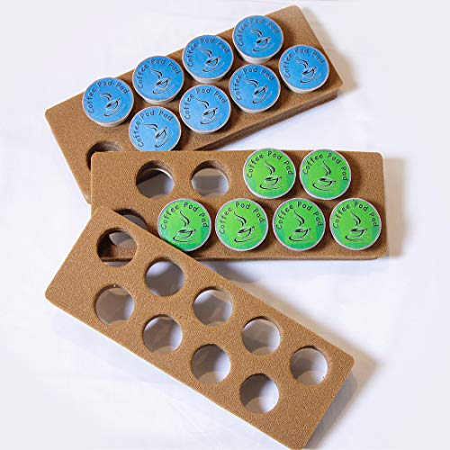 k cup storage solutions Coffee Pod Pad-Easy Storage Holder Organizer   Inside or Under Cabinets Saves Counter Space in Kitchen Home Office RV   27 Capacity Compatible With K-Cups
