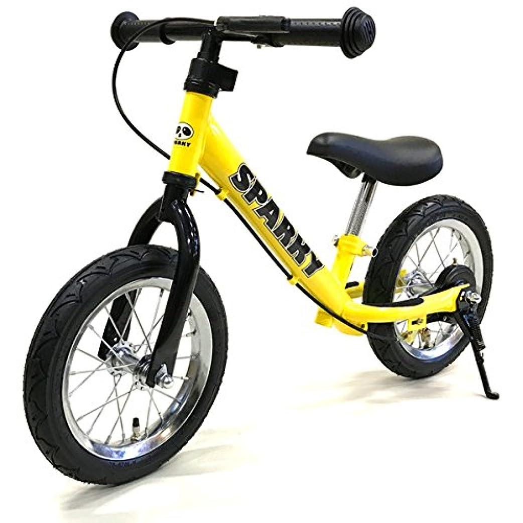 シンジケート分泌するフック【組立済】【キックスタンド付き】 ブレーキ付ゴムタイヤ装備 ペダルなし自転車 キッズバイク SPARKY スパーキー