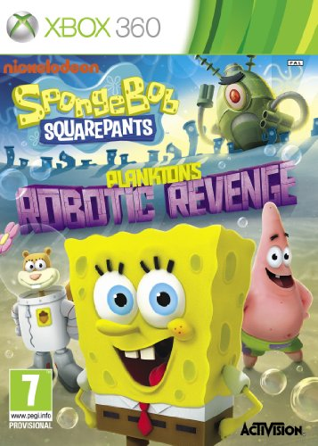 SpongeBob SquarePants Plankton's Robotic Revenge XBox 360