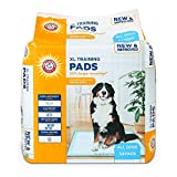 Arm & Hammer for Dogs XL Training Pads | 30% Larger Coverage, New & Improved Super Absorbent, Leak-Proof, Odor Control Quilted Dog Training Pads with Baking Soda| 36 Count Wee Wee Pads