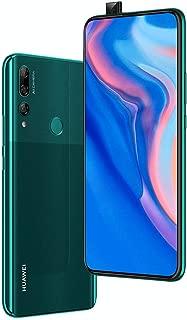 "Huawei Y9 Prime 2019 (128GB, 4GB RAM) 6.59"" Display, 3 AI Cameras, 4000mAh Battery, Dual SIM GSM Factory Unlocked - STK-LX3, US & Global 4G LTE International Model (Emerald Green, 128 GB)"