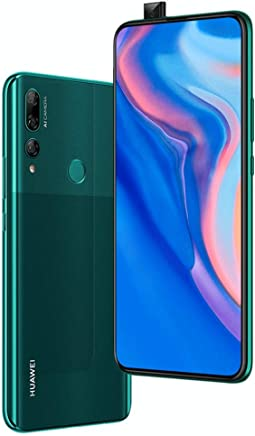 "$289 Get Huawei Y9 Prime 2019 (128GB, 4GB RAM) 6.59"" Display, 3 AI Cameras, 4000mAh Battery, Dual SIM GSM Factory Unlocked - STK-LX3, US & Global 4G LTE International Model (Emerald Green, 128 GB)"