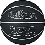 Wilson NCAA Highlight Basketball, Indoor Outdoor, Composite Leather, Official Size (29.5')