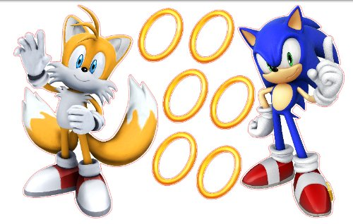 Sonic The Hedgehog Tails Knuckles And Shadow Removable Wall Stickers Set Buy Online In Gibraltar Sonic Products In Gibraltar See Prices Reviews And Free Delivery Over Gip50 Desertcart