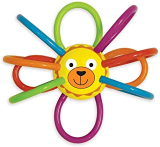 Manhattan Toy Zoo Winkel Lion Rattle and Sensory Teether