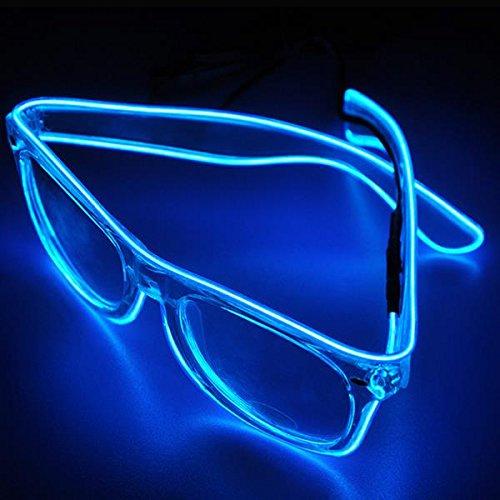 Celerey Halloween zaklamp uitmuntende bril Kerstmis gepersonaliseerde bril Funny Party Supplies