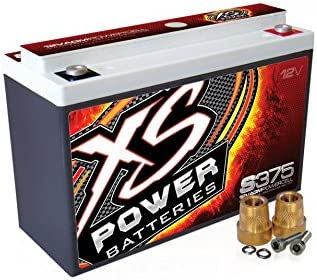 XS Power S375 'S Series' 12V Starting 800 Automotive Max Omaha Mall 87% OFF Bat Amp AGM