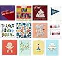 12-Pack Hallmark Good Mail All Occasion Boxed Greeting Cards Assortment