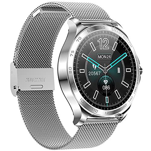 YDK AK29 Ladies Smart Watch Reloj Hembra IP68 Impermeable Smartwatch Largo Standby Tarifa Cardíaca Presión Arterial Fitness Tracker PK DT88 Soporta Android iOS,B