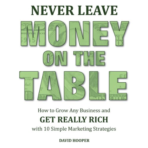 Never Leave Money on the Table audiobook cover art