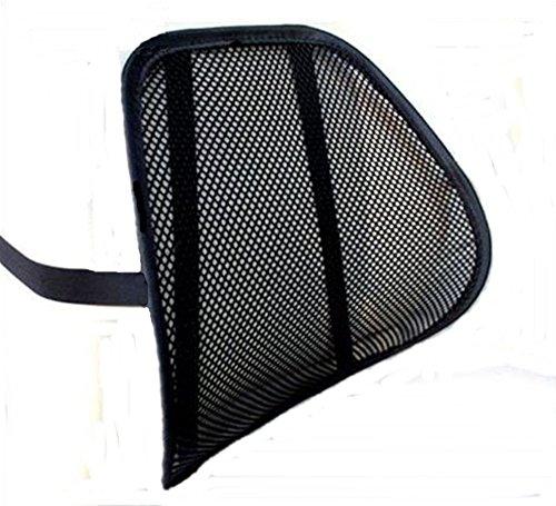 LORDOSENSTÜTZE mit einstellbaren Krümmung Rückenstütze Rückenkissen für Autositz Bürostuhl