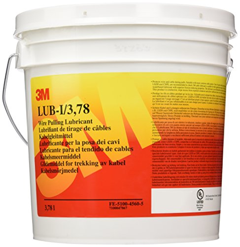 3M FE510045605 Scotch LUB-I Lubricante para el Tendido de Cables, 3,78 litros,...