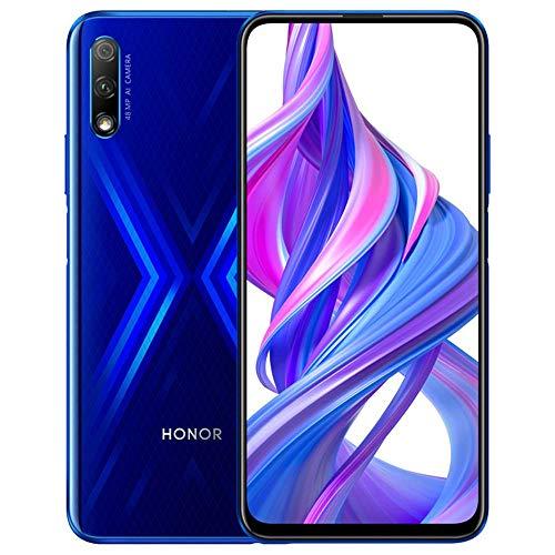 Honor 9X w/Play Store (128GB, 6GB) 6.59', 3 AI Cameras, Dual SIM GSM Unlocked Global 4G LTE...