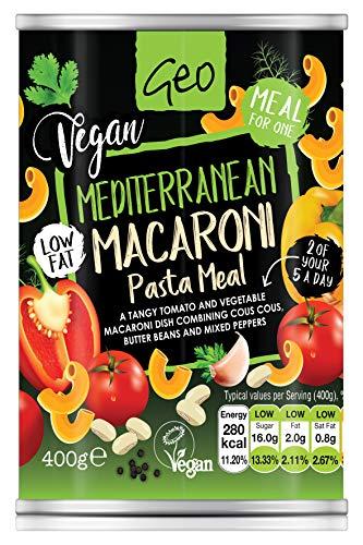 Geo Organics Mediterranea Macaroni Pasta Meal 400g