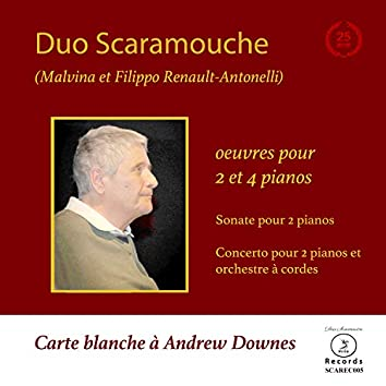 Carte Blanche à Andrew Downes (Piano Duo)