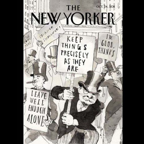 The New Yorker, October 24th 2011 (Jerome Groopman, David Sedaris, Caitlin Horrocks) cover art