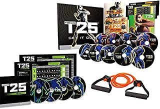 ZONEV Shaun T 25 Minutes Workouts DVD Videos,Fitness Exercise Program Discs