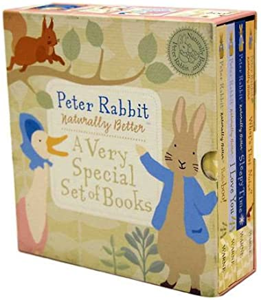 Beatrix Potter Young Children Peter Rabbit Box Set 4 Books Pack Collection (Whats That Noise?, Sleepy Time, I Love You, Peekaboo!) (Young Children Peter Rabbit)