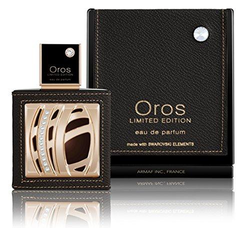 Armaf Oros Eau de Parfum Made with Swarovski Elements für Herren, 85 ml