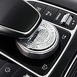 AUTO Pro applicabile a Mercedes-Benz modificati 3D Apple Tree Volante Standard Adesivi di Controllo multimediale manopola Decorazione Nuova E-Class Modifica