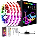 Led Lights Smart Led Strip Lights Ultra Long 65.6ft Music RGB