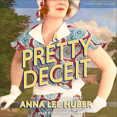 A Pretty Deceit Audiobook By Anna Lee Huber cover art