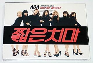 AOA - Miniskirt (5th Single Album) CD + Photo Booklet + Photocard (Angel Card) + Extra Gift Photocards Set