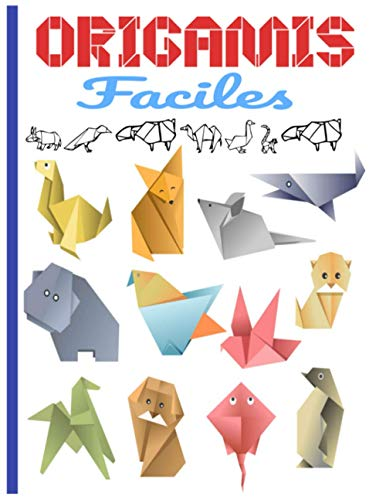 Origamis Faciles: Contenu en couleur   origami facile enfant  origami animaux   origami animaux 3d idéal pour cadeau