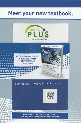 WP Stand Alone Integrated Business Processes with ERP Systems (WileyPlus (Access Cards))