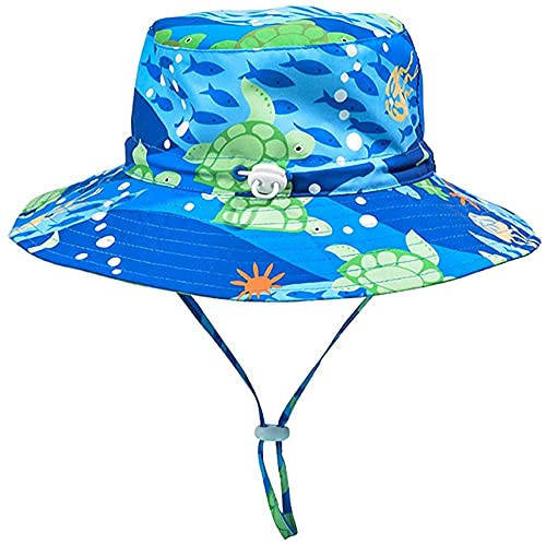 Cutemile Hut Für Kleinkind Mädchen Baby Sonnenhut Verstellbarer Kinnriemen UPF 50+ Sonnenschutz Tierkappe Unisex Sommer Eimer Hut