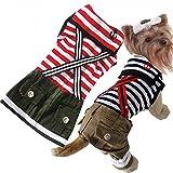 Beau Village(ボー・ヴィラージュ) おしゃれなワンちゃんに♪マリンスタイル お揃いでも着られる ドッグウェア 犬用 犬服 (S, スカート)