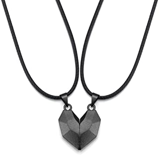 Cathercing Heart Pendant Necklace for Girls Women and Men Necklace Choker Chain Necklaces for Women Birthday Valentine's D...