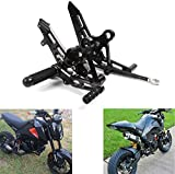 MZS Motorcycle Rearsets Footrests Adjustable CNC...