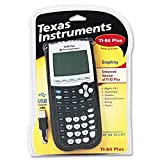 TI-84Plus Programmable Graphing Calculator, 10-Digit LCD (Renewed)