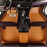 Tapis de sol de voiture pour séries B-M-W Z1 Z3 Z4 Z8 - En cuir - Imperméable - Lavable - Antidérapant - Anti-salissure
