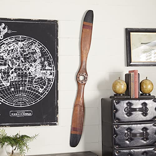 Traditional Wooden Airplane Propeller