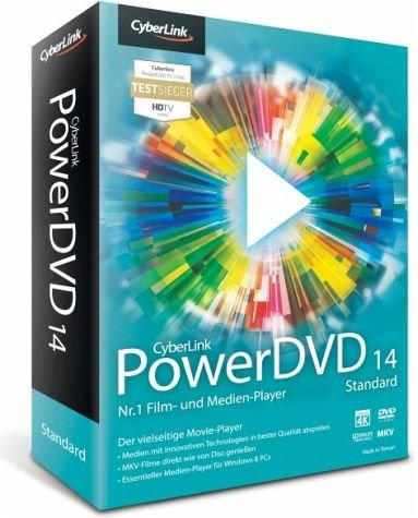 Preisvergleich Produktbild CyberLink PowerDVD 14 Standard
