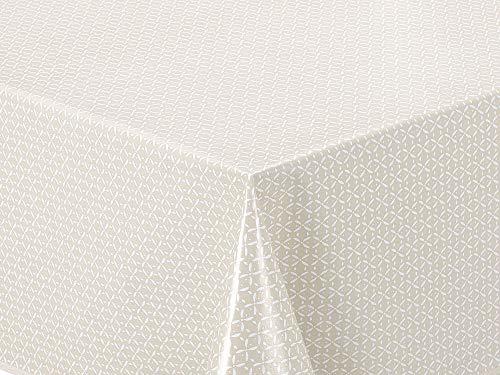 Home Direct Mantel de Hule, Rectangular 140 x 200cm, Beige