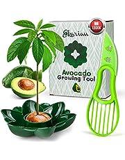 EKARIAN Verktyg för odling av avokado   Present till kvinnor   Odla din egen avokadoväxt   Födelsedagspresent   Avokado-skivare   Present för flickvän   Med gratis e-bok