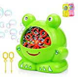 Betheaces NO.321 Bubble Machine with 2 Bottles of Liquid, Bubble Maker Toys for Kids Boys Girls Baby Toddlers,...