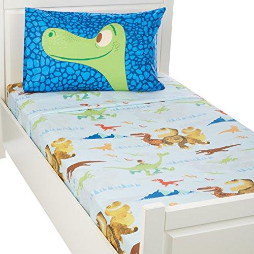 Disney Good Dinosaur Carnivore - Juego de sábanas Completo (134 x 75 cm), Trio, Cama Individual