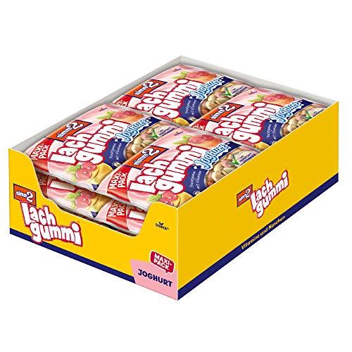 nimm2 Lachgummi Joghurt (13 x 376g) / Fruchtgummi mit Fruchtsaft und Vitaminen