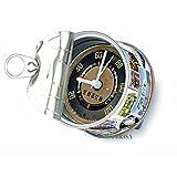 Volkswagen VW Kollektion Tischuhr Magnetuhr MyClock, die Uhr in der Dose mit VW Bus T1 Motiv (Einheitsgröße) (Mehrfarbig)