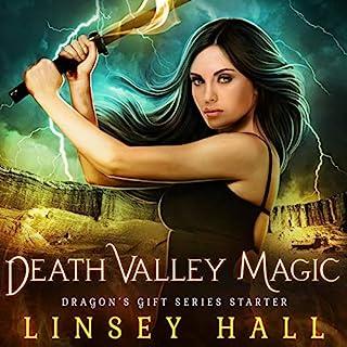 Death Valley Magic audiobook cover art