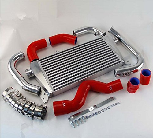GOWE Intercooler Kit for RED New Front Mount Intercooler Kit for Audi A4 1.8T Turbo B6 Quattro 2002-2006