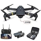 Vavshop Drone Pliable E58 Drone avec caméra 5.0MP 1080P HD Grand Angle WiFi FPVavec Vol de Trajectoire Mode sans Tête, 360°Flips et Maintien de l 'Altitude Maniable