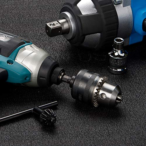 """Neiko 20754A 3/8"""" Drill Chuck with 1/4"""" Quick Change Hex Shank 